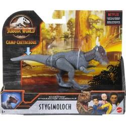 Mattel JURASSIC WORLD Camp Cretaceous Ruchoma Figurka Dinozaura STYGIMOLOCH GVG49
