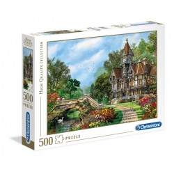 CLEMENTONI Puzzle 500 el. High Quality Collection OLD WATERWAY COTTAGE 35045