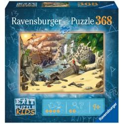 RAVENSBURGER Exit Puzzle Kids 368 Elementów PIRACI 129546
