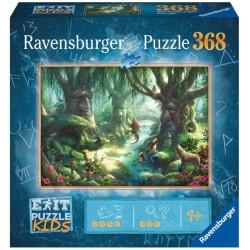 RAVENSBURGER Exit Puzzle Kids 368 Elementów MAGICZNY LAS 129553
