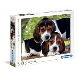 CLEMENTONI Układanka Puzzle 500 Elementów High Quality Collection PIESKI 30289