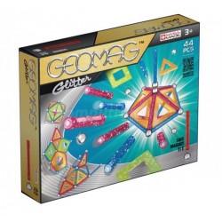 GEOMAG GLITTER Klocki Magnetyczne Brokatowe 44 Elementy 3+ 5322