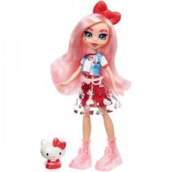 Mattel HELLO KITTY Zestaw Lalka Eclair + Figurka Hello Kitty GWW96
