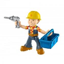 Fisher-Price - DHB06 - DHB05 - Bob Budowniczy - Figurka z Akcesoriami - Bob z Wiertarką