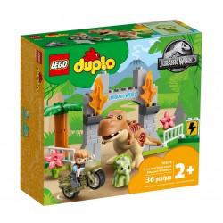 LEGO DUPLO 10939 Jurassic World Ucieczka Tyranozaura i Triceratopsa