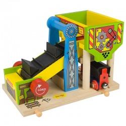 Bigjigs Toys - BJT195 - Załadownia Węgla - do Kolejek Drewnianych