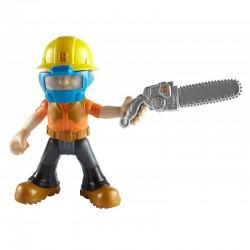 Fisher-Price - DHB07 - DHB05 - Bob Budowniczy - Figurka z Akcesoriami - Bob Drwal