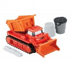 Fisher-Price - DMM53 - DGY43 - Bob Budowniczy - Pojazdy Boba Budowniczego z Piaskiem Kinetycznym - Spychacz MUCK