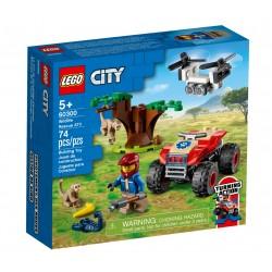 LEGO CITY 60300 Quad Ratowników Zwierząt