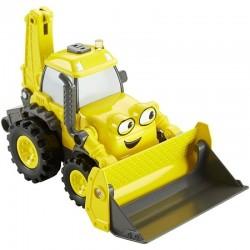 Fisher-Price - DYT25 - Bob Budowniczy - Pojazdy Boba Budowniczego - Światło i Dźwięk - Mówiąca Koparka - Koparka