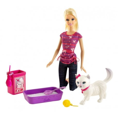 Mattel - BDH76 - Barbie z Kotkiem