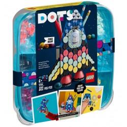 LEGO DOTS 41936 Pojemnik na Długopisy Rakieta