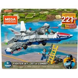 Mattel Mega Construx ZESTAW KONSTRUKCYJNY KLOCKI Myśliwiec 221 Elementów GNY53