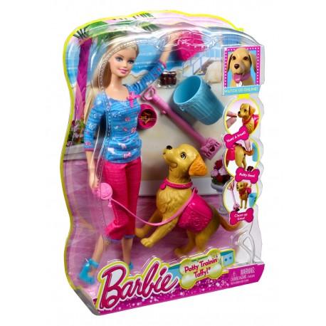 Mattel - BDH74 - Barbie z Pieskiem
