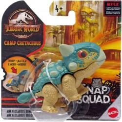 Mattel JURASSIC WORLD Snap Squad Figurka Dinozaura ANKYLOSAURUS BUMPY GVG70