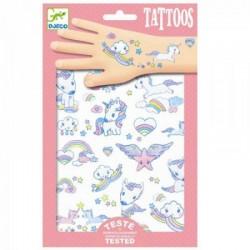 DJECO - 09575 - Zestaw Tatuaży - Tatuaże - JEDNOROŻCE