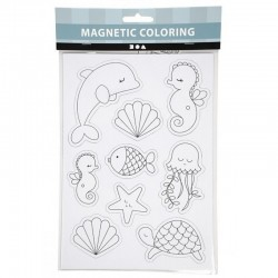 Magnetic Coloring Magnesy do Kolorowania OCEAN 51238