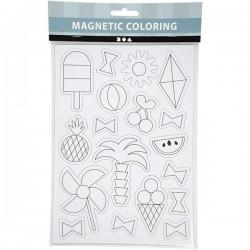 Magnetic Coloring Magnesy do Kolorowania LATO 51236