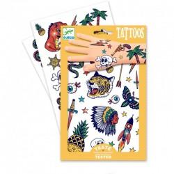 DJECO - 09577 - Zestaw Tatuaży - Tatuaże - Indianie - BANG-BANG