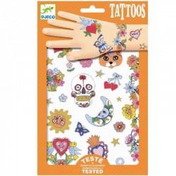 DJECO - 09578 - Zestaw Tatuaży - Tatuaże - MEKSYKAŃSKA FIESTA