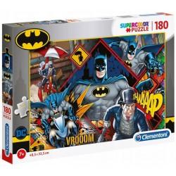 CLEMENTONI SuperColor Puzzle 180 Elementów BATMAN 29108