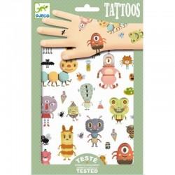 DJECO - 09579 - Zestaw Tatuaży - Tatuaże - MALUTKIE RZECZY