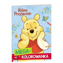 Ameet MEGA-KOLOROWANKA Kubuś Puchatek 336325