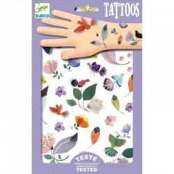 DJECO - 09582 - Zestaw Tatuaży - Tatuaże - W LOCIE