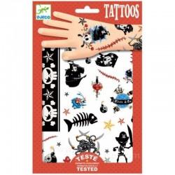 DJECO - 09584 - Zestaw Tatuaży - Tatuaże - PIRACI