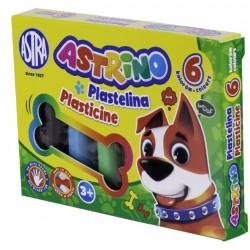 ASTRA Astrino PLASTELINA 6 Kolorów 8068