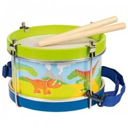 Goki Instrumenty Muzyczne BĘBENEK DINOZAURY 3+ 61882