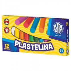 ASTRA Masa Plastyczna PLASTELINA 12 Kolorów 0095