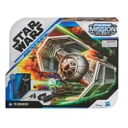Hasbro Star Wars Mission Fleet MYŚLIWIEC TIE ADVANCED + FIGURKA DARTH VADER E9598