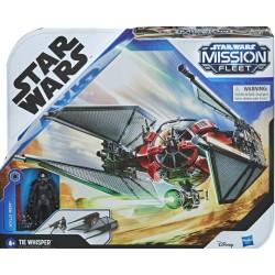 Hasbro Star Wars Mission Fleet MYŚLIWIEC TIE WHISPER + FIGURKA KYLO REN F1134