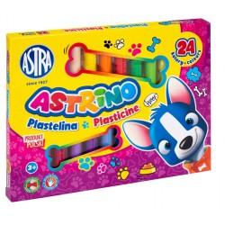 ASTRA Astrino PLASTELINA 24 Kolory 8099