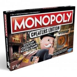 HASBRO Gra Monopoly Cheaters Edition E1871