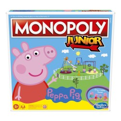 HASBRO Gra Monopoly Junior Świnka Peppa F1656