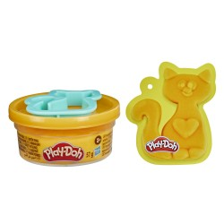 Play-Doh CIASTOLINA Kieszonkowe Kreacje Pojedyncza Tuba + Foremka KOTEK F1806