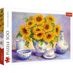 TREFL Puzzle 500 Elementów Premium Quality SŁONECZNIKI 37293