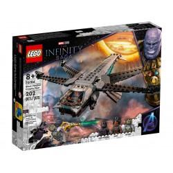 LEGO MARVEL 76186 The Infinity Saga Helikopter Czarnej Pantery