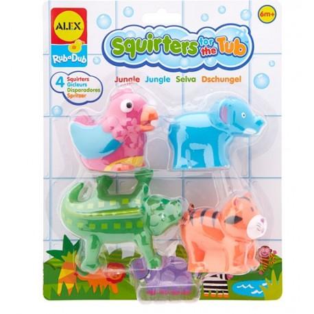 Alex Toys - A700 - Zabawki do Kąpieli - Safari Jungla