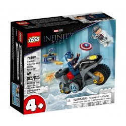 LEGO MARVEL 76189 The Infinity Saga Kapitan Ameryka i Pojedynek z Hydrą