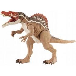 Mattel JURASSIC WORLD Ruchoma Figurka Dinozaura SPINOSAURUS MEGA ZGRYZ HCG54