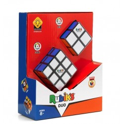 Spin Master RUBIK'S DUO ZESTAW KOSTEK RUBIKA 3x3 + 2x2 3033