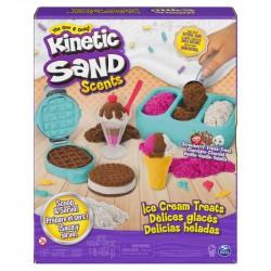 SPIN MASTER Kinetic Sand Piasek Kinetyczny LODOWE SPECJAŁY 6059742