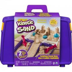 SPIN MASTER Kinetic Sand Piasek Kinetyczny WALIZKA PIASKU 6037447
