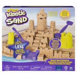SPIN MASTER Kinetic Sand Piasek Kinetyczny ZAMEK NA PLAŻY 6044143
