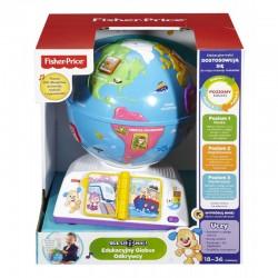 Fisher-Price - DRJ85 - Ucz się i Śmiej - Edukacyjny Globus Odkrywcy