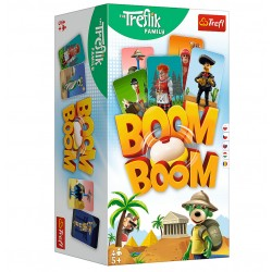TREFL Gra Boom Boom RODZINA TREFLIKÓW 02122