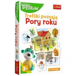 TREFL Rodzina Treflików Gra Edukacyjna TREFLIKI POZNAJĄ PORY ROKU 01839